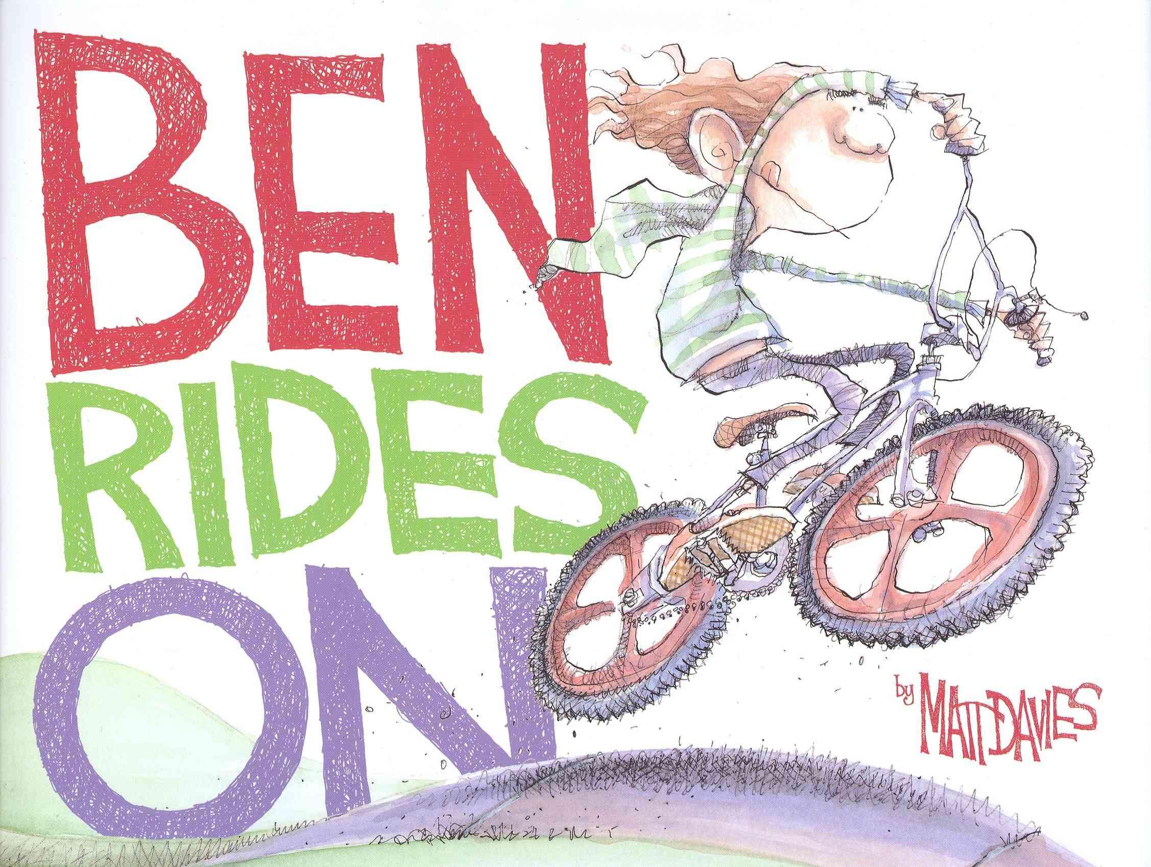 Ben Rides on By Davies, Matt